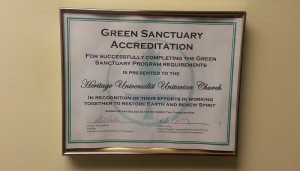 Green Sanctuary Accreditation Document