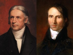 Rev. Hosea Ballou and Rev. William Ellery Channing