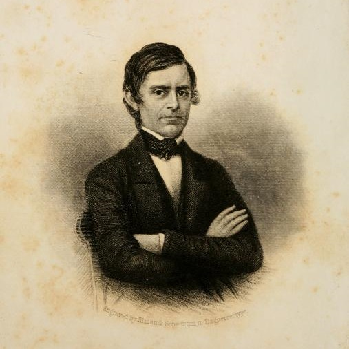 """Rev. Abel. C. Roberts, from the frontispiece to """"Autobiography of Rev. Abel C. Thomas, Including Recollections of Persons, Incidents and Places."""""""