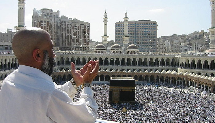 Supplicating Pilgrim at Mecca