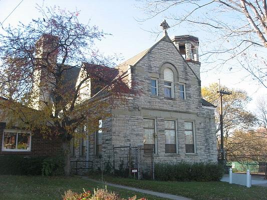 Essex Street Church (former building of the First Universalist Church of Cincinnati)