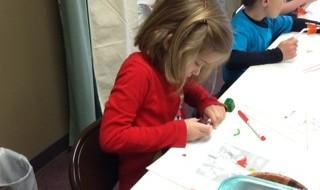 Girl in Children's Religious Education