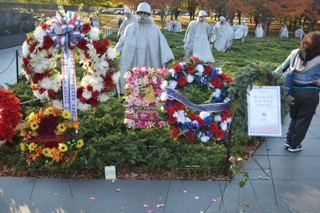 Korean War Veterans Memorial in Washington D.C.