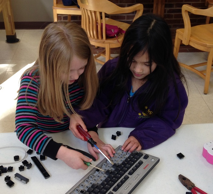 Take-Apart Party, March 29, 2015 - Keyboard