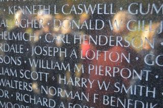 Vietnam Veterans Memorial in Washington, D.C.