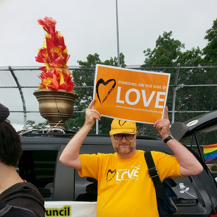 UUs in the Cincinnati Pride Parade, 2015