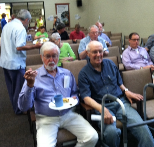 Waiting for the Congregational Meeting, 2015
