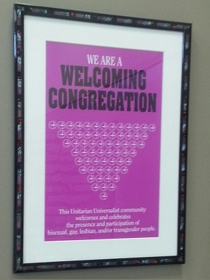 Welcoming Congregation Plaque
