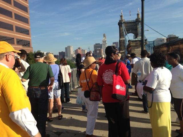 March Across the Roebling Bridge