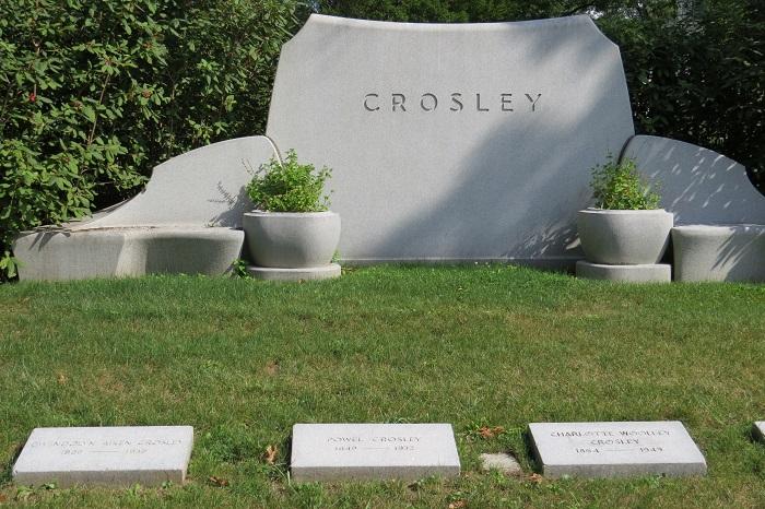 Crosley Plot at Spring Grove Cemetery, Cincinnati, Ohio