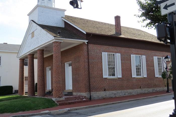 Universalist Church of Montgomery, Ohio