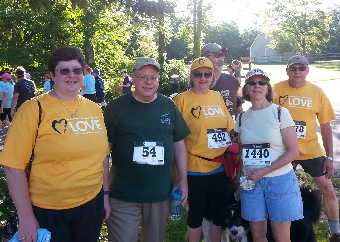 5K Stomp Out Hunger Walk/Run - Some People from Heritage