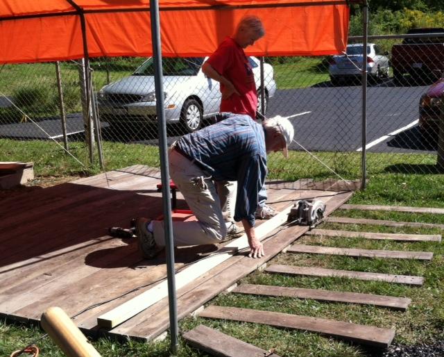 Working on the Playground Platform, September 2015