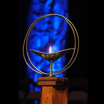 Flaming Chalice at UUA General Assembly