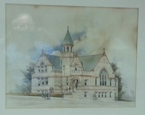 Sketch of Essex Street Building