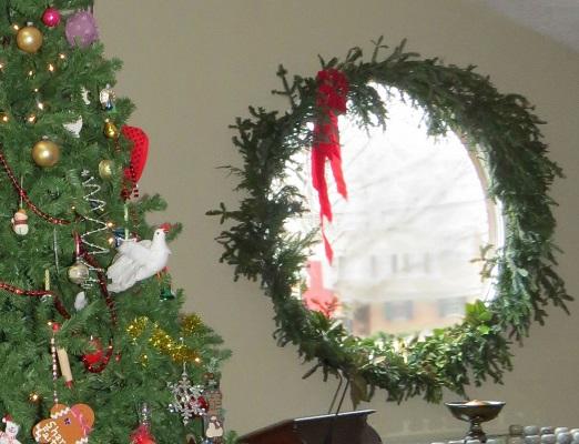 Tree and Wreath