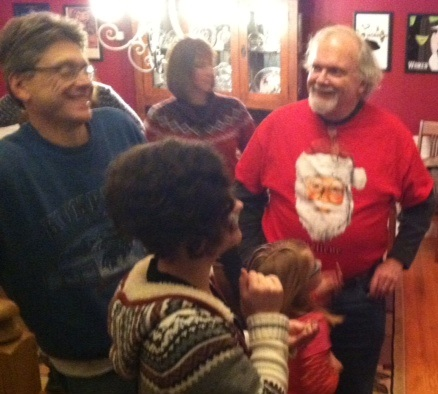 Christmas Caroling Party 2015