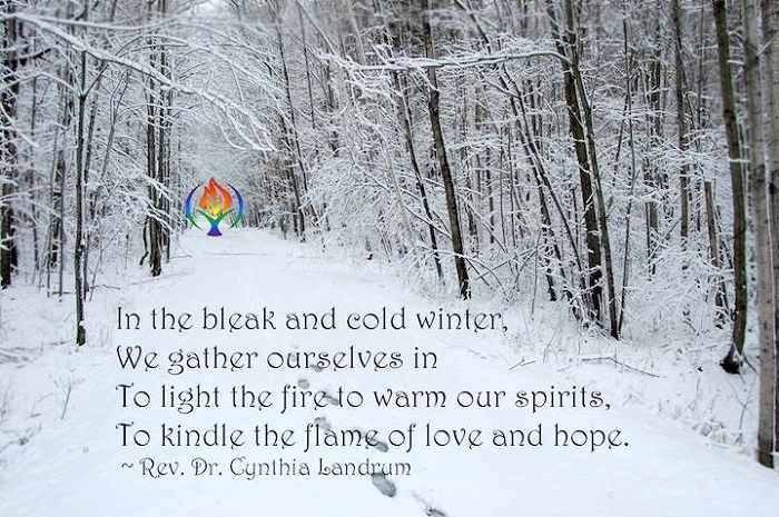 In the bleak and cold winter