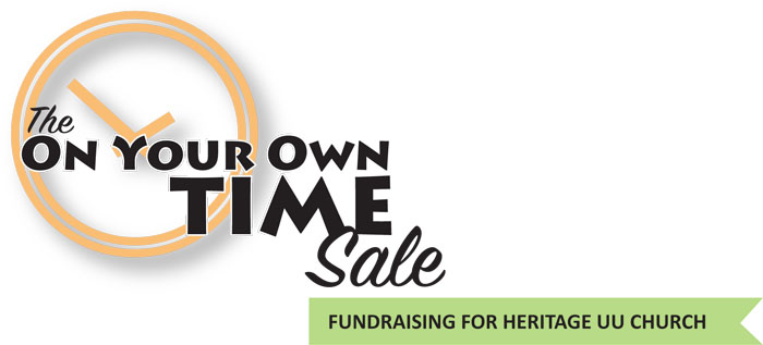 On Your Own Time Sale - Banner 1