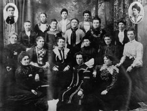 Ladies Benevolent Society, 1903. (This one was in Australia, not Cincinnati.)