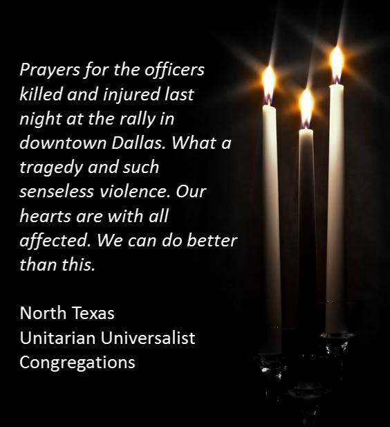 Prayers for the officers
