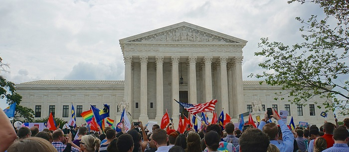 Supreme Court of the United States ends marriage discrimination - Obergefell vs Hodges.