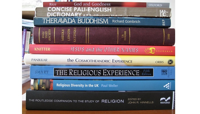 Stack of Religious Books