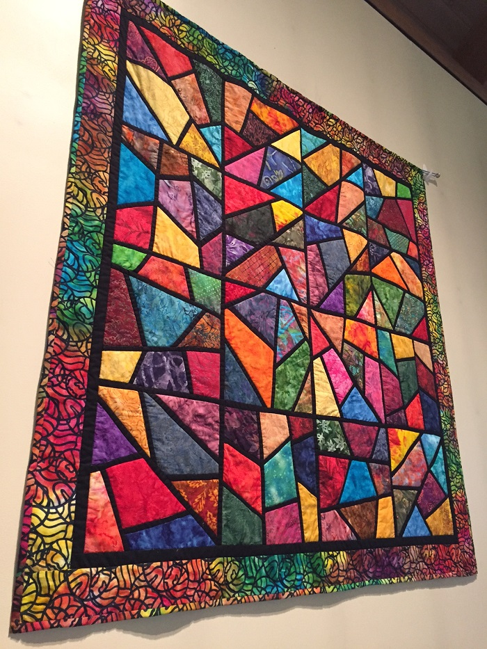 Wall hanging at The Gathering at Northern Hills, Cincinnati, Ohio