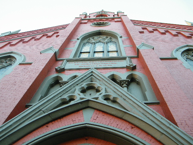 Old Building of St. John's Unitarian Church, Cincinnati, Ohio