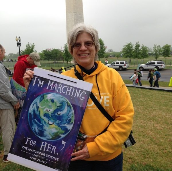 Heritage People Participate in the March for Science