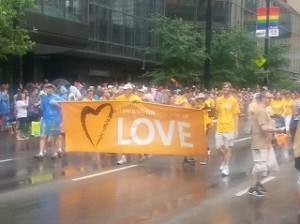 UUs march in Cincinnati Pride Parade