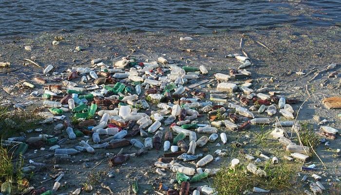 Plastic Bottle Trash