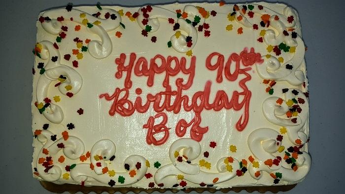 Happy 90th Birthday Bob