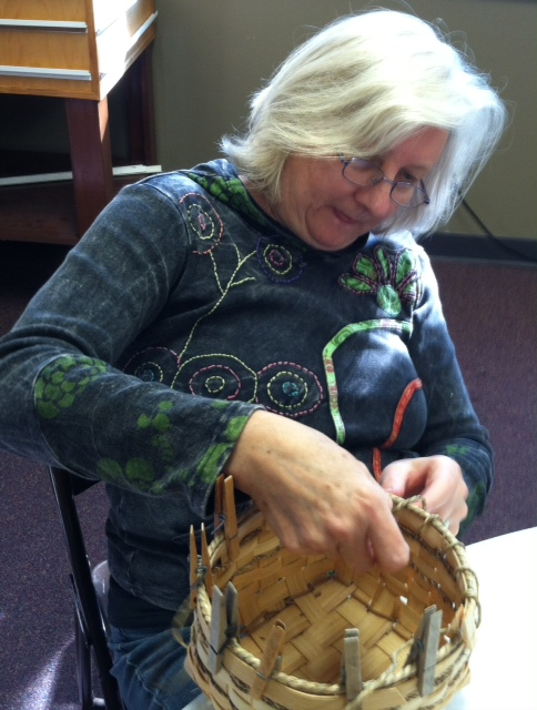 Basket Making at Retreat
