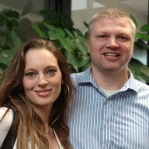 Aimee and Trent Goetz