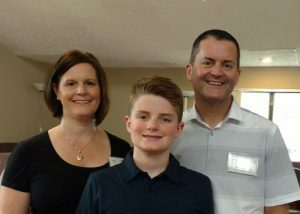 Michelle and Michael Wilhite, with son Sam