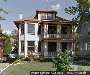 Large, upper-class house built in the late 1800s or early 1900s.