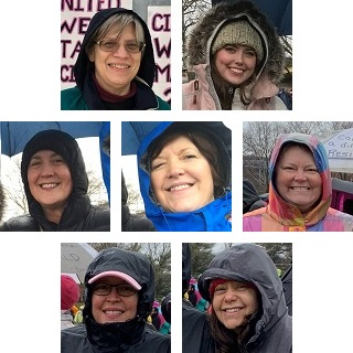Heritage People Participate in Women's March