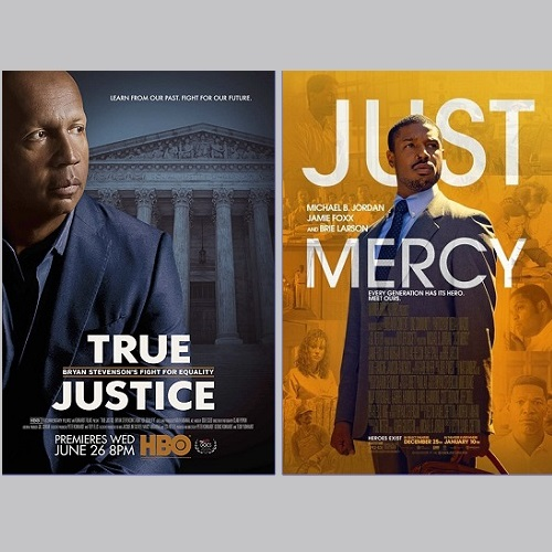 """Viewing and Discussion of """"True Justice"""" and """"Just Mercy"""""""