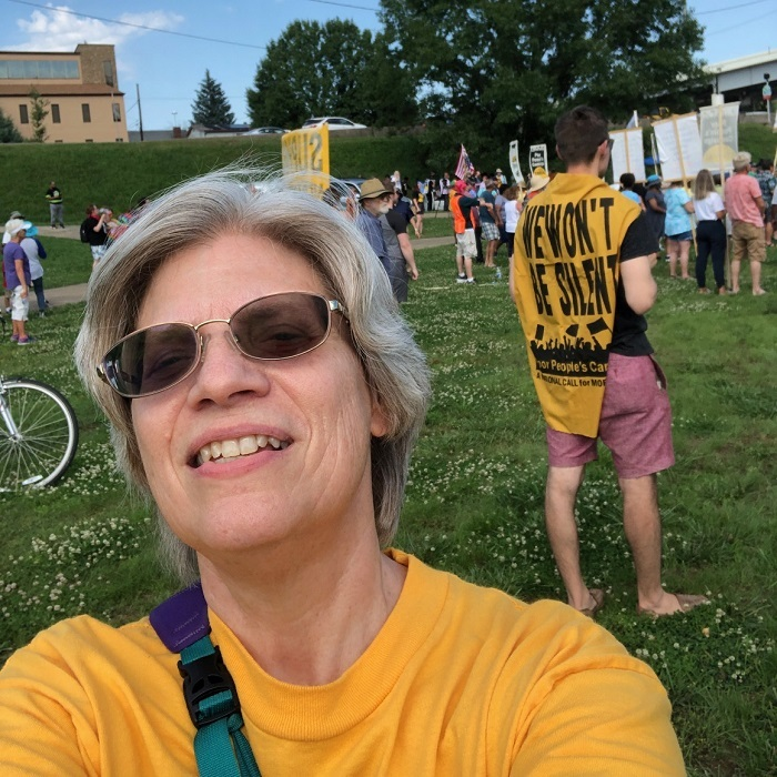 Heritage Member Travels to Rally in Support of Voting Reform