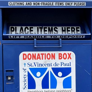 IPM Has a New Clothing Donation Box