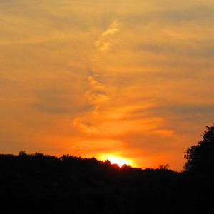 Share the September Sunset at Heritage Acres